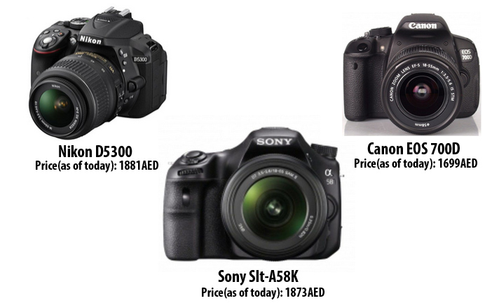 camera buying guide dubai